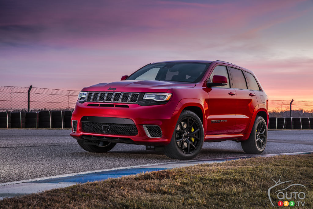 Pricing Announced for 2018 Grand Cherokee Trackhawk