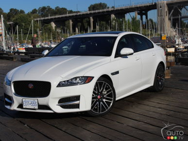 2017 Jaguar XF 20d AWD R-Sport is a Torque Star