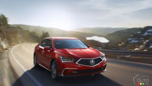 Redesigned 2018 Acura RLX Revealed
