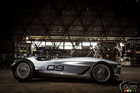 Infiniti Prototype 9 Retro Concept Revealed