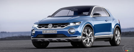VW T-Roc: Sneak Peek at Design Elements