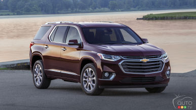 2018 Chevrolet Traverse: An expanded mandate