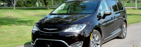 2017 Chrysler Pacifica Hybrid: Our Road Trip to Maine