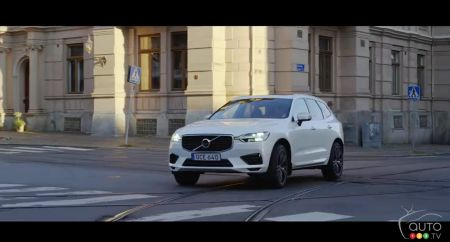 A 3rd look at the upcoming  Volvo XC40, in video