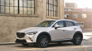 2018 Mazda CX-3 Adds Manual Transmission, Drops in Price Below $20,000
