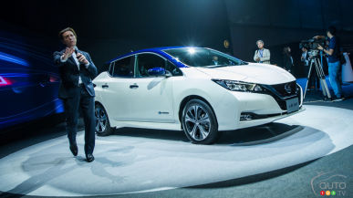 See the Full Launch Event for the New Nissan LEAF