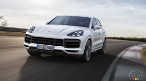 Frankfurt 2017: Turbo Version of the New Porsche Cayenne Debuts