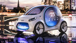 Frankfurt 2017: An Electric, Self-Driving Smart Solution