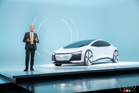 Frankfurt 2017: Audi's Focus on Self-Driving Cars