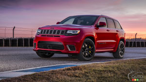 2018 Jeep Grand Cherokee Trackhawk; Surprising Balance!