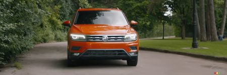 le volkswagen tiguan 2018 a tout pour plaire voyez la pub actualit s automobile auto123. Black Bedroom Furniture Sets. Home Design Ideas