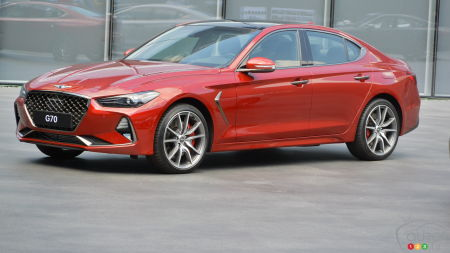 2019 Genesis G70 Shines on Road and Track: An Exclusive Review!
