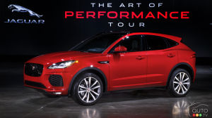 2018 Jaguar E-PACE Arriving in Canada, Pricing Announced