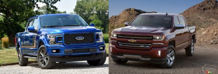 Ford F-150 vs Chevrolet Silverado : la guerre se poursuit