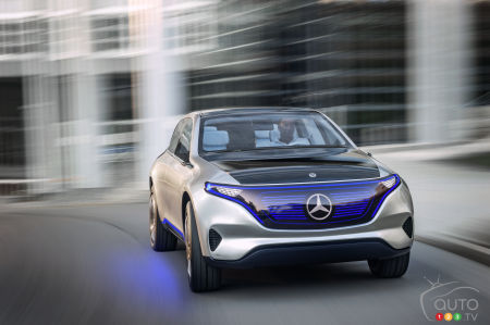 Mercedes-Benz to Build Electric Cars in North America
