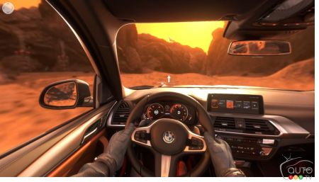Take a Virtual 360° Road Test of the BMW X3… on Mars!