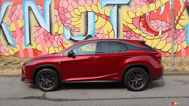 2017 Lexus RX 450h F Sport: The surprising one