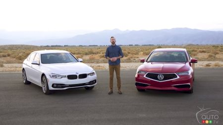 2018 Acura Tlx Vs 2018 Bmw 330i Which Comes Out Ahead Car