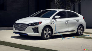 Meet the New Hyundai IONIQ Electric plus plug-in hybrid