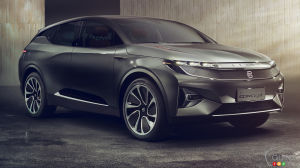 CES 2018: Chinese Electric SUV Headed for America in 2020
