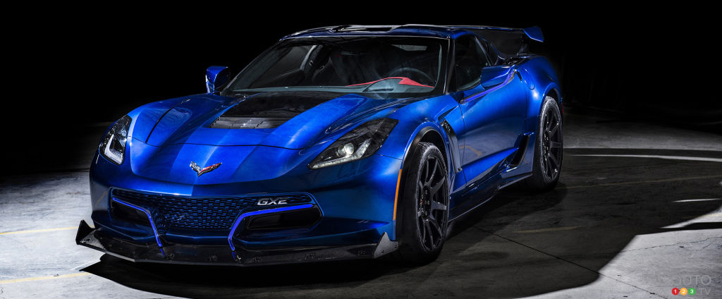 CES 2018: Genovation GXE, an 800-hp Electric Corvette!