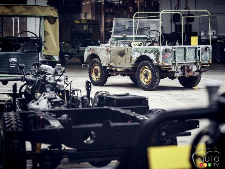 Land Rover Marks 70th Anniversary with Restoration of Classic 4x4