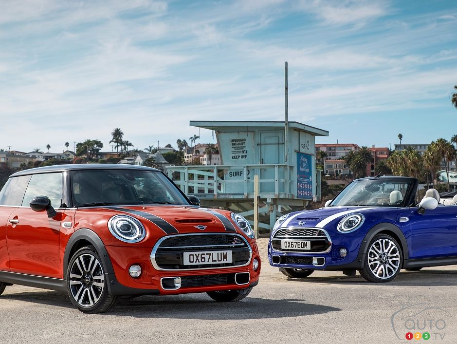 2019 MINI 3 Door and MINI Convertible