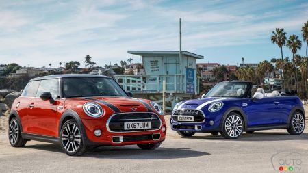MINI 3 Door, 5 Door and Convertible Looking Ahead to 2019