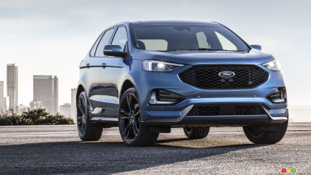 New Ford Edge ST to Offer More Muscle