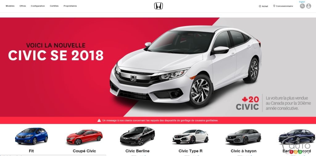 Lovely 20 Years Of Honda Civic At The Top, And A Special Edition To Celebrate!