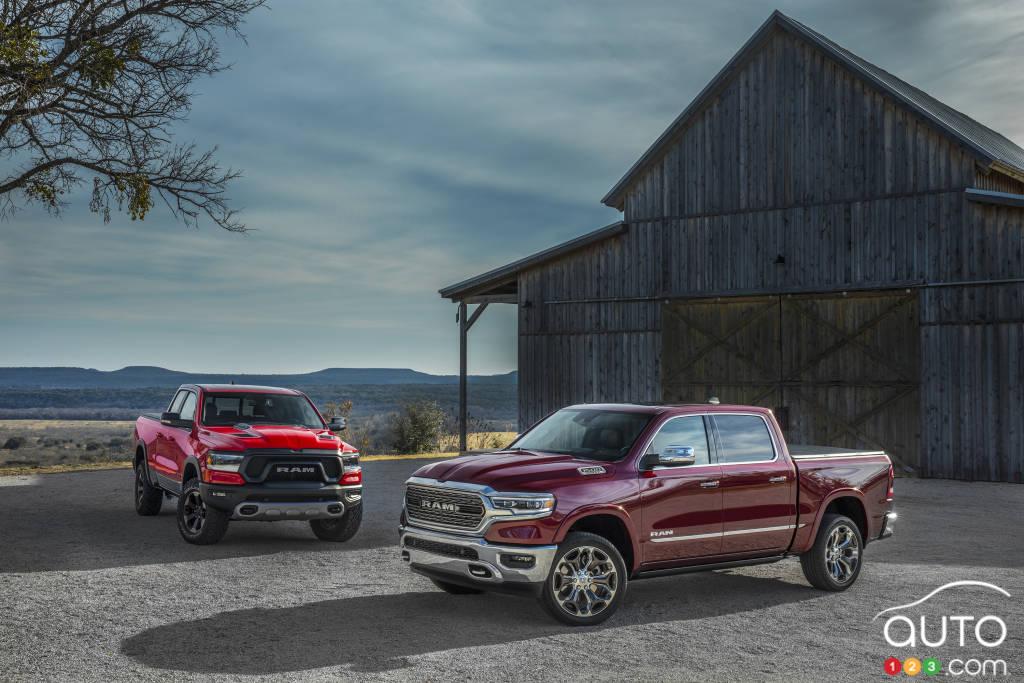 Next-gen 2019 RAM 1500 unveiled at Detroit auto show | Car ...