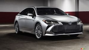 Detroit 2018: Revised 2019 Toyota Avalon Could Pass for a Lexus