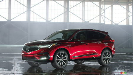 2019 Acura Rdx To Arrive In Canada Mid 2018 Car News Auto123