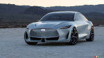 The new INFINITI Q Inspiration concept uses an electric motor