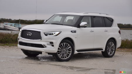 2018 INFINITI QX80: Rejuvenation of an Old Whale