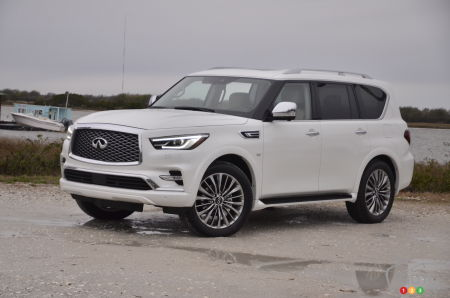 2018 Infiniti Qx80 Review And Pricing Car Reviews Auto123