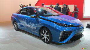Montreal 2018: Toyota Mirai to Be Sold in Canada This Year, Starting in Quebec