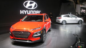 Montreal 2018: Hyundai Kona, Accent 5-Door…and a Mobile EV Charging Service