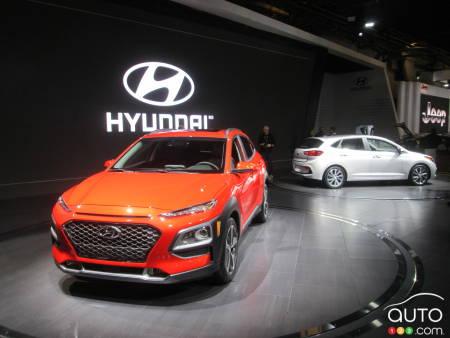 hyundai kona accent 5 portes et rechargez ici montr al actualit s automobile auto123. Black Bedroom Furniture Sets. Home Design Ideas