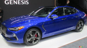 Montreal 2018: Genesis G70 Takes Aim at the 3 Series