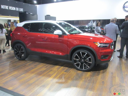 The 2019 Volvo XC40 introduced at Montreal Auto Show | Car News | Auto123