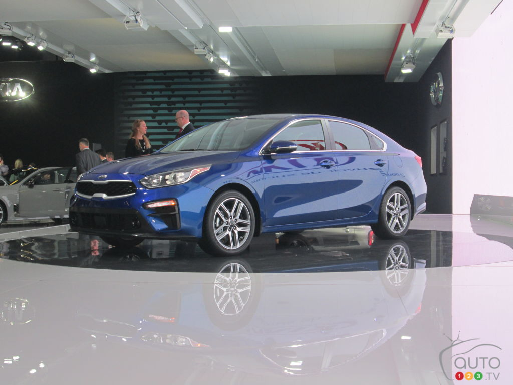Montreal 2018: More Details on the New 2019 Kia Forte