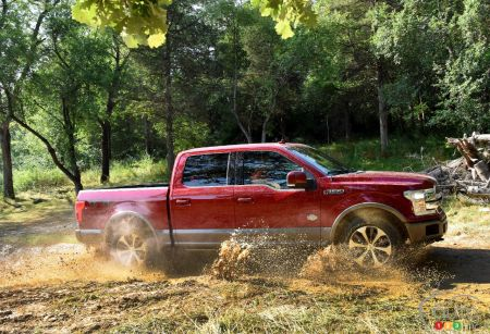 Pickup Truck Comparison: 2018 Ford F-150 vs. the Competition (videos)