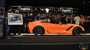 2 Corvettes, a Ford GT and the Mustang Bullitt Bring Millions at Auction
