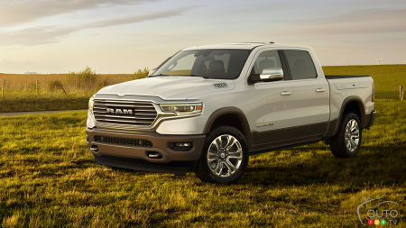 2019 RAM 1500 Back in Laramie Longhorn Version