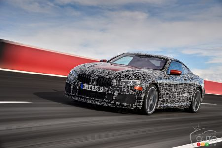 BMW Tests 8 Series, Shatters Drift Record with M5