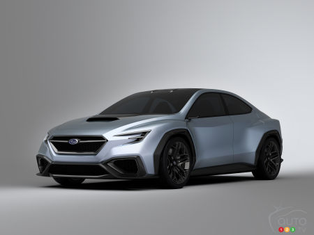 A Mid Engined Subaru Sports Car Could Be On The Way Concept Cars