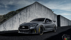 INFINITI Project Black S blends hybrid technology and muscular performance