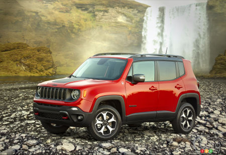 Jeep Renegade 2019 : Nouveau moteur turbo, abandon de la transmission manuelle