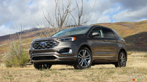First Drive Of The  Ford Edge Luxurious Well Equipp